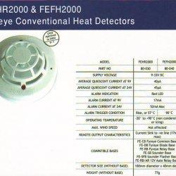 دتکتور حرارتی زتا Zeta FEHR2000 FEFH2000