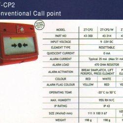 شستی زتا Zeta ZT-CP2  ZT-CP2/W  ZT-CP1